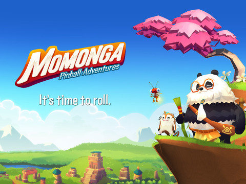 Momonga Pinball Adventures header iOS