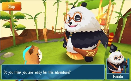 Momonga Pinball Adventures panda