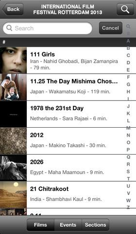 IFFR 2013 films overzicht