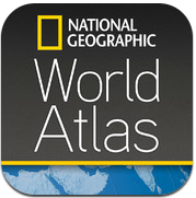 National Geographic World Atlas iPhone iPad