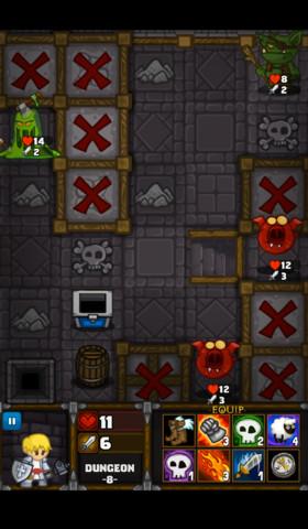 GU DO Dungelot verslavende iPhone-game