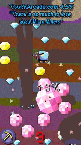 GU DI Micro Miners iPhone