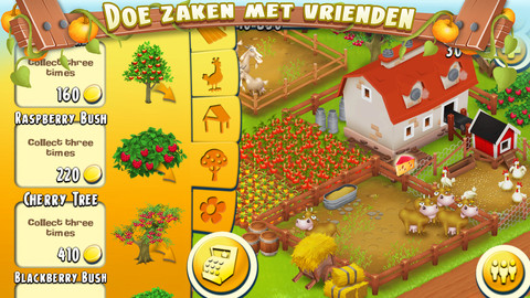 Hay Day zaken doen iPhone