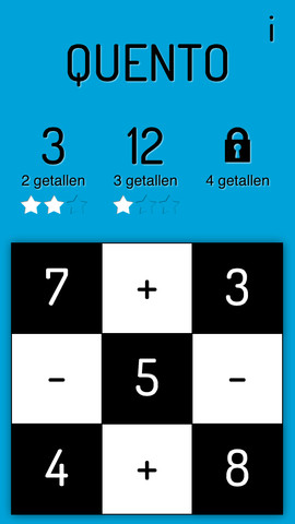 Quento getallen maken iPhone-game
