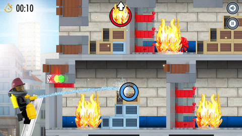 GU DO Lego City Fore Hose Frenzy falt