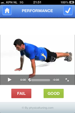 Get Fit opdrukken video