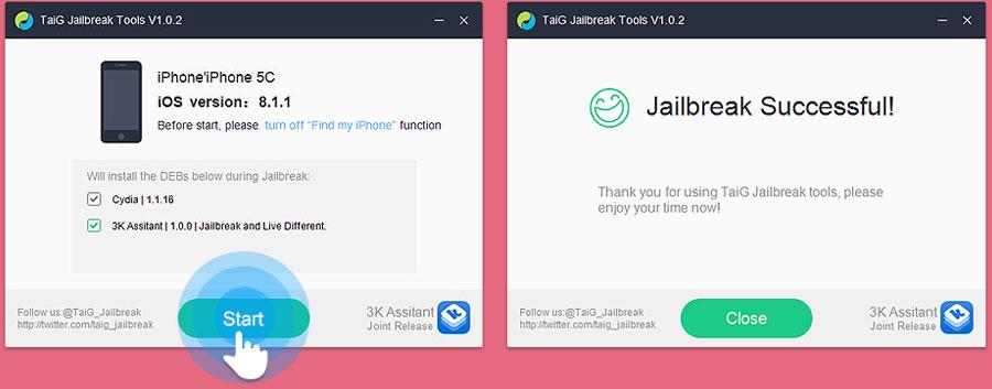 TaiG Jailbreak iOS 8