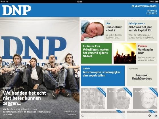 DNP De Nieuwe Pers iPad