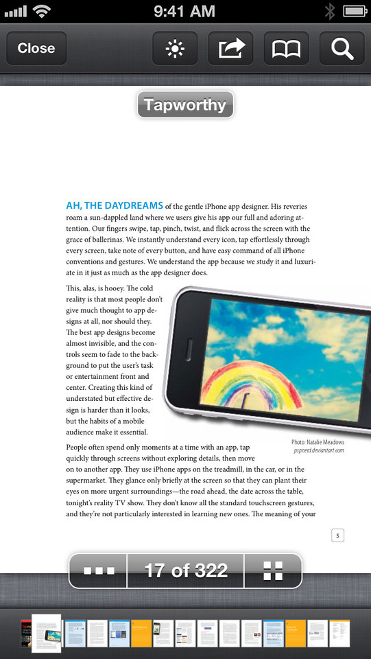 Files App PDF lezen