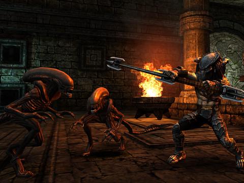 GU DO Alien VS Predator iPhone iPad
