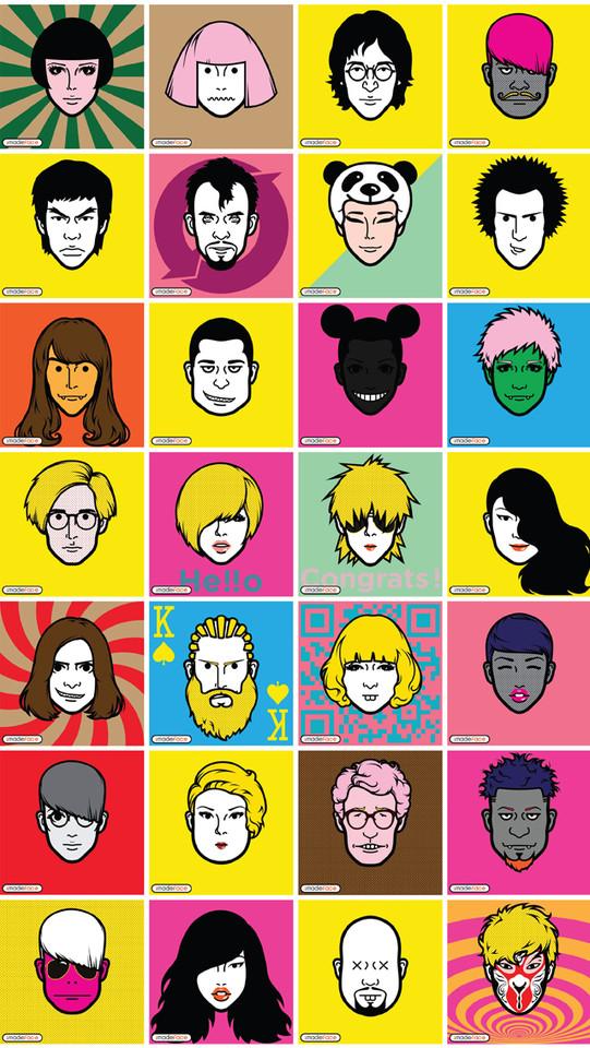 iMadeFace gezichten gallerij