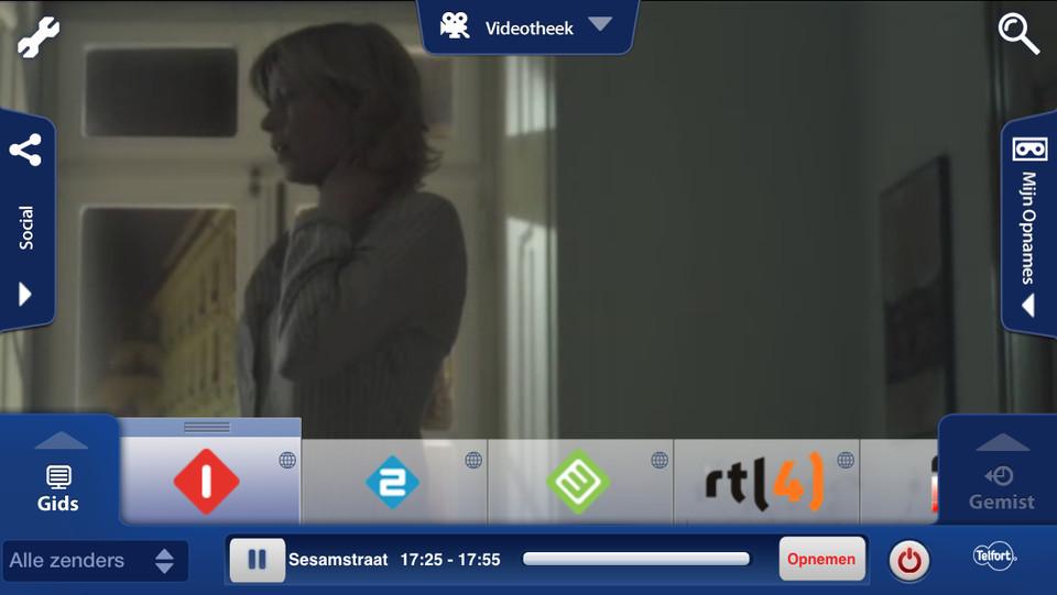 Telfort TV Online iPhone tv kijken