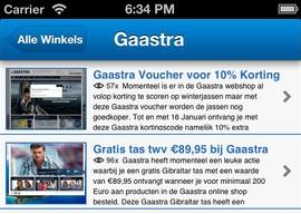 Shopkortingscode.nl iPhone-app