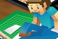 Minecraft Papercraft Studio Zelf 3d Modellen Knutselen Van