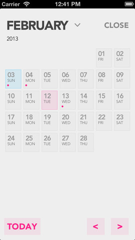 Do.one maandkalender iPhone
