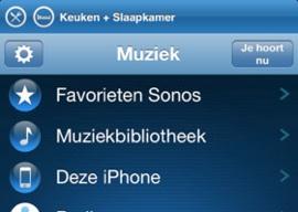 Sonos Controller iPhone