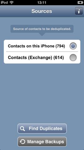 OneContact telefoon of Exchange