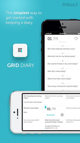 Grid-Diary iPhone vragen