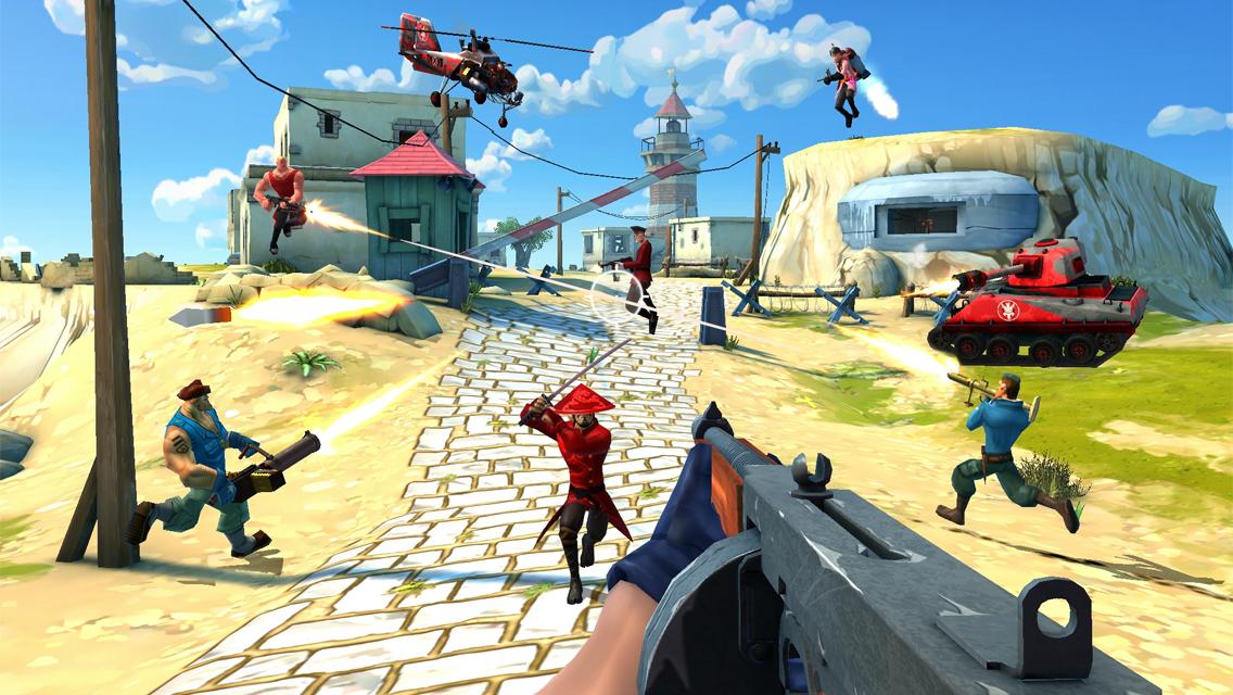 GU VR Blitz Brigade druk screenshot iPhone
