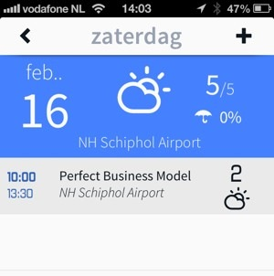 horizon calendar app