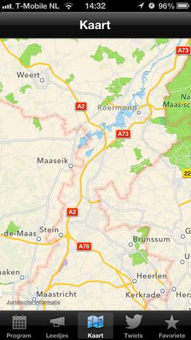 Vastelaovend kaart 2013