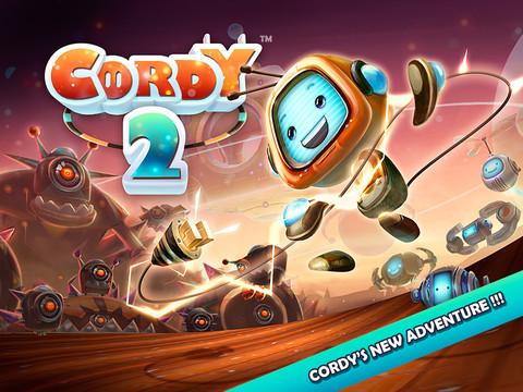 Cordy 2 nieuwe iPhone platformer