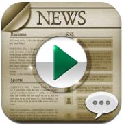 NewsPlayer iPhone nieuws voorlezen