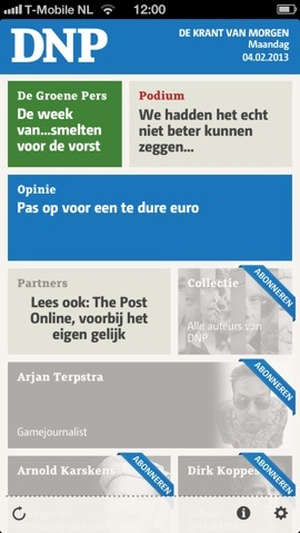 DNP preview paywall
