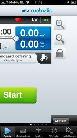 Runtastic Pro fout na updaten iPhone