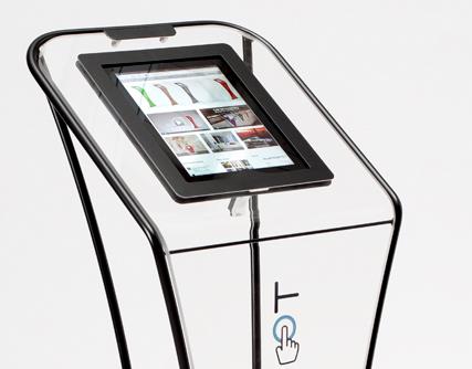 Swipespot Tablet Stand Air iPad-standaard dichtbij