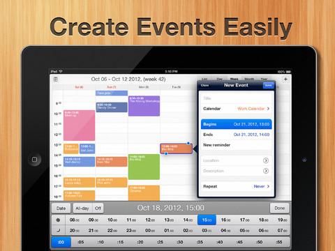 Calendars by Readdle afspraak aanmaken