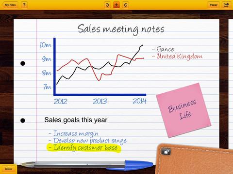 My BIC Notes zakelijk en post-it