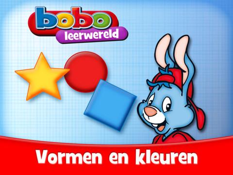 Bobo Vormen en Kleuren iPad