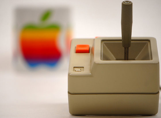 Joystick van de Apple II