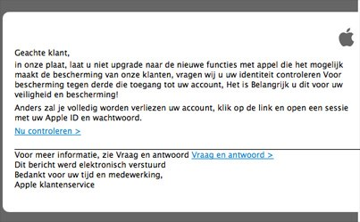 phishing apple id