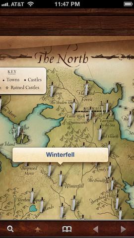 kaart game of thrones iphone