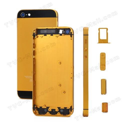 Gele iPhone 5 achterkant