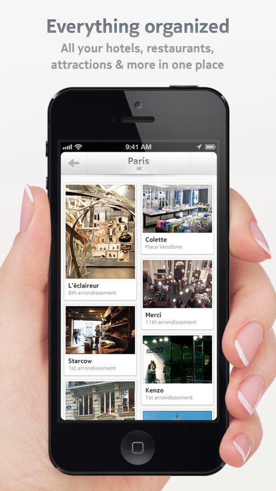 Dcovery overzicht locaties iPhone