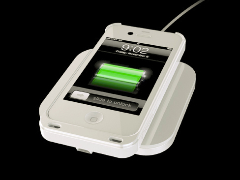 iPhone wireless charge