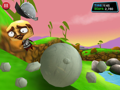 GU Roll Boulder Smash iPad iPhone