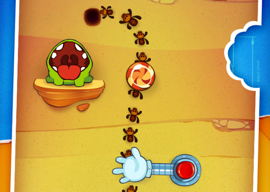 Cut the Rope Experiments iPhone update