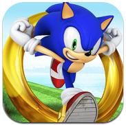 GU WO Sonic Dash header ipad iPhone