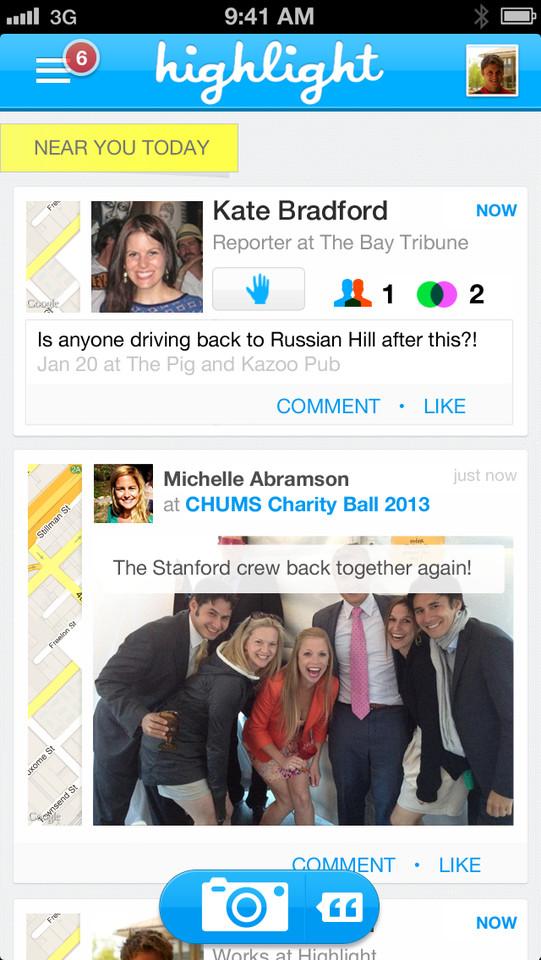 Highlight timeline foto's en mensen