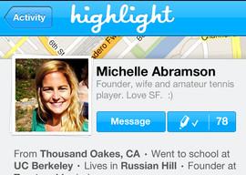 Highlight iPhone-app SXSW update