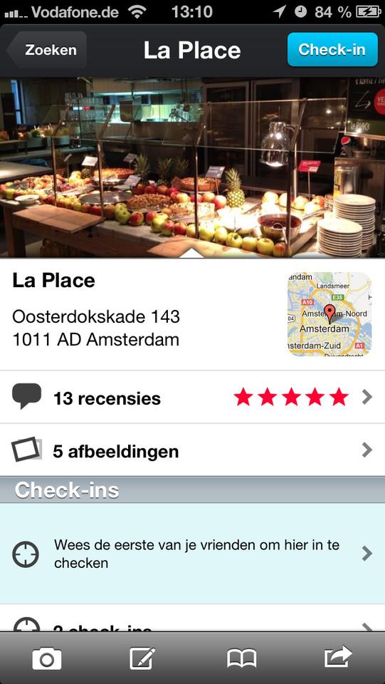 Qype informatiepagina restaurant