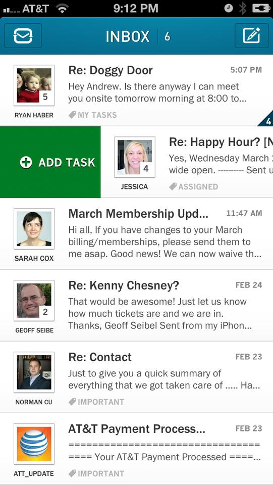 Taskbox 2.0 makeover mailbox