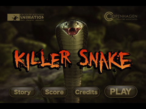 GU header Killer Snake iPhone iPad