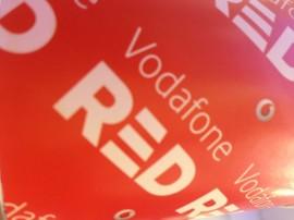 Vodafone Red banner