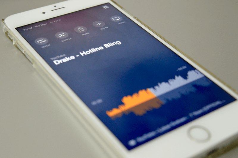 Vox-app iPhone