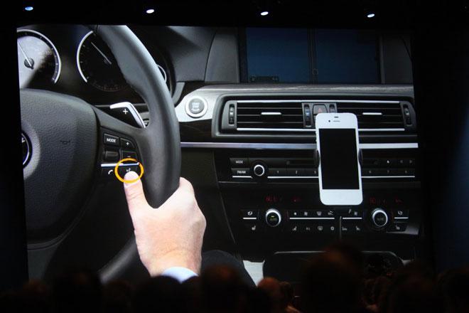 iPhone car